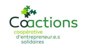 Logo coactions scop cooperative landes Fabien geley