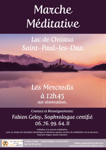 Marches méditatives au lac de Christus Saint-Paul-lès-Dax