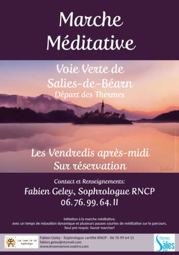 Marches méditatives à Salies-de-Béarn