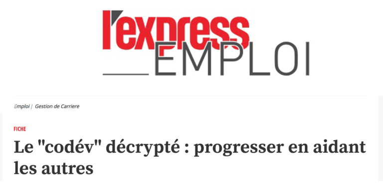 l'express emploi le codev co dev