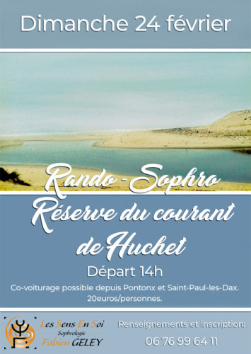 Rando Sophro d'Hiver au courant de Huchet