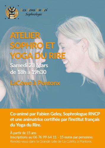 Atelier Sophro et Yoga du rire