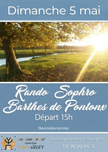 RANDO SOPHRO DES BARTHES