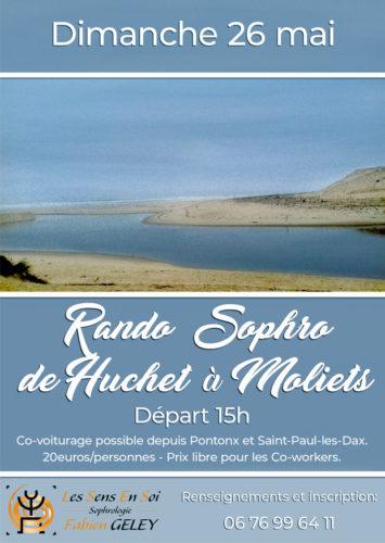 Rando Sophro dans la réserve naturelle du courant de Huchet