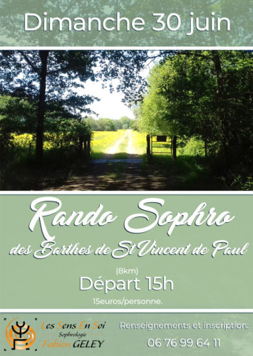 Rando Sophro des Barthes de Saint Vincent de Paul
