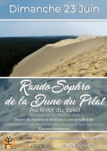 Rando Sophro dune du Pilat – Équinoxe d'été