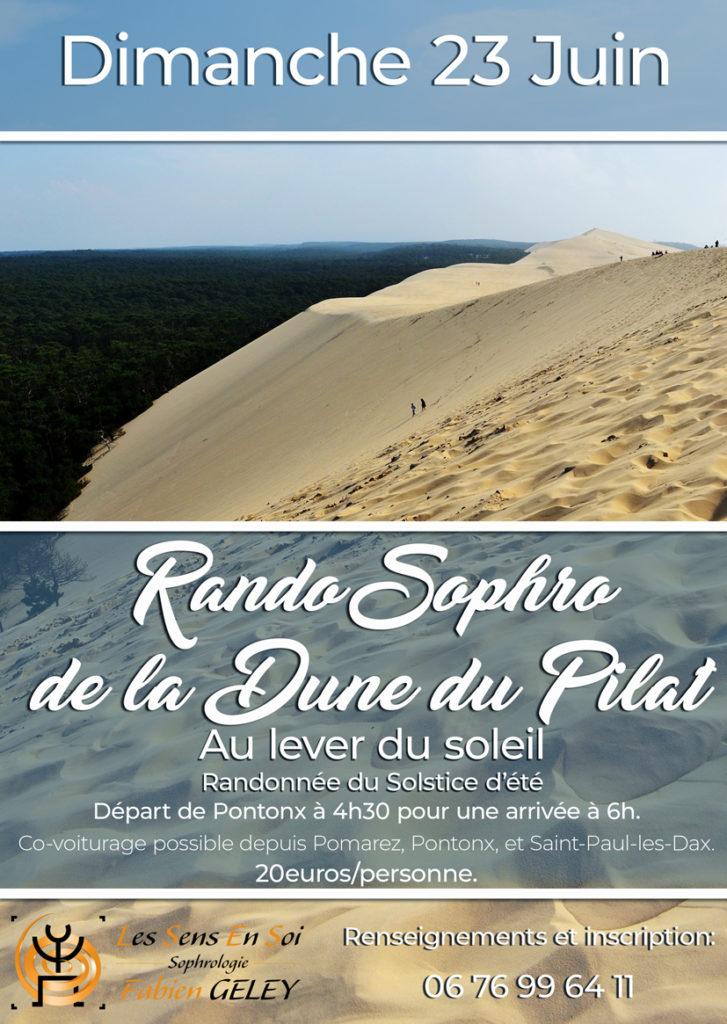 rando sophro dune du pilat
